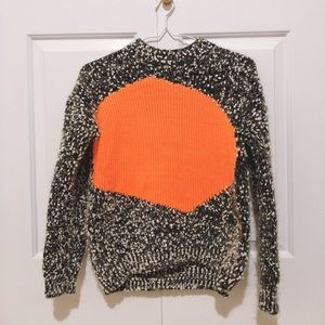 Designers Orange Sweater - Never worn